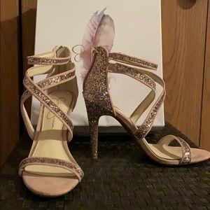 """Jessica Simpson """"Ellenie"""" strappy heels"""
